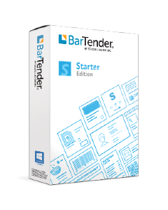 BarTender 2021 Labelling Software Starter Edition - Network 1 Printer Licence