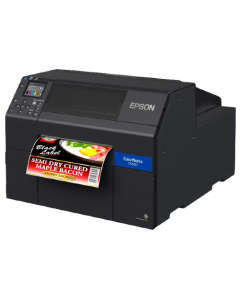 Epson ColorWorks CW-C6510A 8-Inch Inkjet Label Printer with Autocutter
