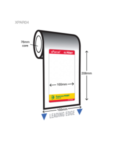 Express Post Label - 100mm x 206mm (600/rl)