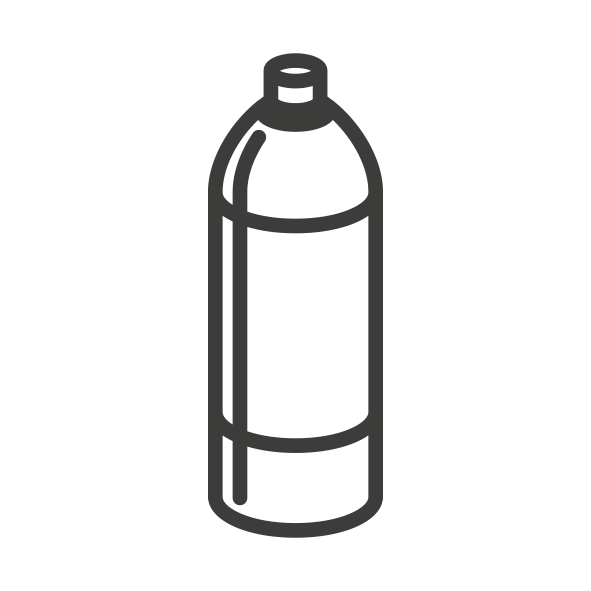 Dairy Plastic Bottle Icon